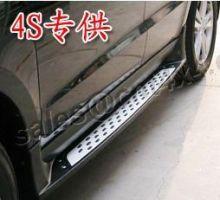 Боковые подножки cnt4x4, пластик с алюминиевой накладкой